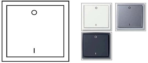 2 チャンネル無線スイッチ (照明モデル)