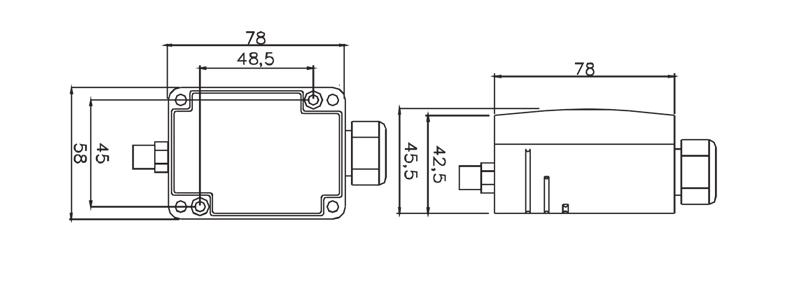 RS485_寸法
